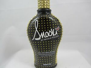 SUPRE  SNOOKI ULTRA CHIC BLACK BRONZER TANNING LOTION