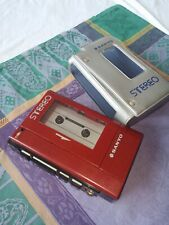 SANYO WALKMAN M4440 PERSONAL STEREO CASSETTE TAPE PLAYER VINTAGE 80?s