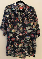 NFL Falcons Hawaiian Short Sleeve Shirt, L, RARE