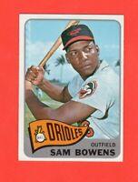 1965 OPC  # 188  Sam Bowens  nrmnt