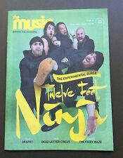 THE MUSIC MAGAZINE Twelve Foot Ninja Issue #152 AUG 2016 Dead Letter Circus