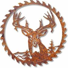 DXF CNC dxf for Plasma Router Vector Clip Art  Saw Deer 21 Man Cave Metal Art