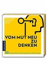 Buch Vom Mut neu zu denken Frankfurter Allgemeine