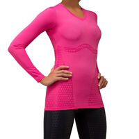 Shock Absorber Sports Support Top  S015G Pink Running Gym Cycling