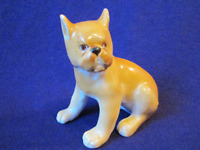 Soviet Porcelain figurine statuette russian USSR propaganda Vintage Lomonosov