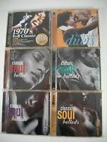 156 Songs on 11 CDs Time Life Classic Soul Ballads + 1970's R&B Classics