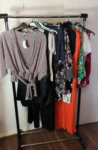 Womens Ladies Clothes Bundle Size 14 Blouse Shirt Top Playsuit Mini Dress FF1