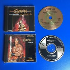 CONAN THE BARBARIAN & THE DESTROYER BUNDLE, BASIL POLEDOURIS, FILM SOUNDTRACK CD