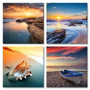 Canvas Art Print Picture Wall Art Panoramic Landscape Sea Beach /& Sea 740