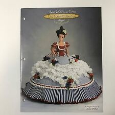 Crochet Doll Clothes Pattern Abigail Old South Collection Annies Glorious Gowns