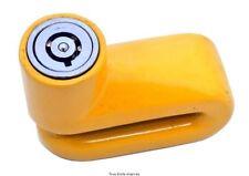 STAR LOCKS BLOCCA DISCO GIALLO SCOOTER UNIVERSALE 5,5mm RESISTENTE NO TAGLIO