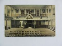 Vintage Postcard Interior of Faneuil Hall  Boston Mass City Building