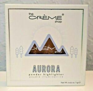 the Creme Shop Aurora Powder Highlighter Super Stellar 9514
