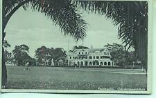 Paramaribo Gouvernementhuis SURINAME 1938 real photo postcard