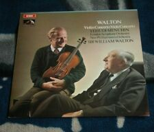 WALTON VIOLIN CONCERTO / YEHUDI MENUHIN UK LP HMV ASD 2542