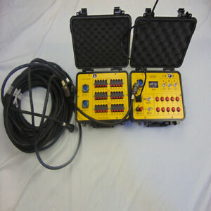 ELC30 30Cues Fireworks Firing System 220V Remote Special Effect Salvo Sequential