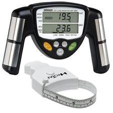 Omron HBF-306C BodyLogic Pro Hand Held Body Fat Monitor & MyoTape