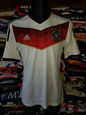 GERMANY 2014 HOME SHIRT SIZE M DEUTSCHLAND DFB JERSEY TRIKOT MAGLIA (m979)