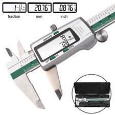 Digital Caliper Electronic Gauge Stainless-Steel Vernier Micrometer Ruler 150mm
