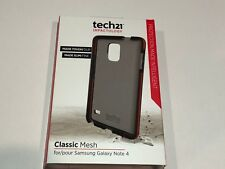 Tech21 Classic Mesh Case Cover for Samsung Galaxy Note 4 - Smokey