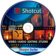 NEW & Fast Ship! Shotcut Video / Audio Professional Editor & Publishing Studio