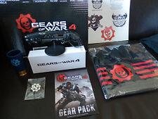 Gears Of War 4 Coffret Goodies Collector - Huge Crate Box  PAS DE JEU - NEUF  B
