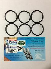 Remington 1100 Shotgun 20 ga 6 Barrel Gas Seals Parts Black Viton O-rings