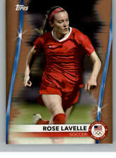 2021 Topps US Olympics & Paralympics #8 Rose Lavelle Bronze Soccer