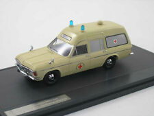 1 43 MATRIX Model Opel Admiral B SWB Miesen Rettungswagen Ambulance beige 1970