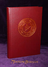 LIBER JURATUS HONORII, Grimoire Limited, Hell Fire Club, LEATHER Limited Edition