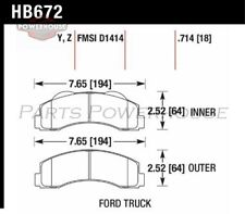 HAWK HB672Y.714 LTS Brake Pads Ford F-150 Expedition Lincoln Navigator 2010-2011