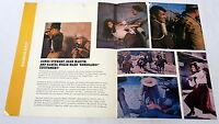1968 distributor movie promo ~ BANDOLERO! ~ Raquel Welch, James Stewart