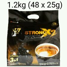 48 sachets x 25g Vietnam Trung Nguyen G7 STRONG X2 Instant Coffee 3in1 Coffeemix