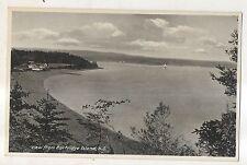 View From Partridge Island NS Vintage Nova Scotia Canada Postcard