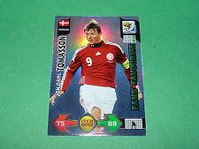 TOMASSON DANMARK PANINI FOOTBALL FIFA WORLD CUP 2010 CARD ADRENALYN XL
