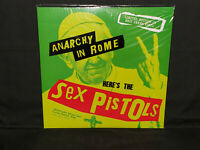Sex Pistols Anarchy In Rome Live 1996 FM Sealed New LP Snot Green Vinyl Import