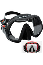 Atomic Venom Frameless Scuba Dive Mask Black/Red - Grey/Black