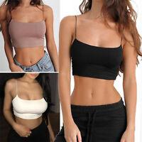 HOT Women Cross Strappy Bra Tank Top Bustier Vest Crop Bralette Blouse Tops Cami