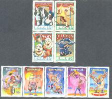 Australia-Circus & the Big Top-2 sets mnh