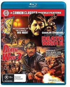 Death Wish II / Death Wish 3 [New Blu-ray] Australia - Import
