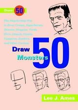 Draw 50 Famous Cartoons: The Step-by-Step Way to Draw Your Favorite Cartoon Char