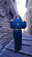 Heavy dress sweater long nap hair Fluffy knitted sweater DECOFUR Made to order