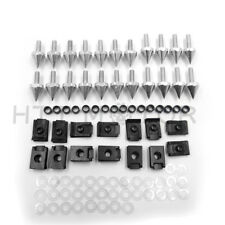 Fairing Bolts Kit Fastener Clips Screw For Yamaha 2000-2001 YZF R1 Silver Motorc