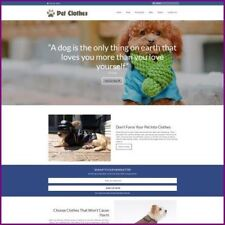 PET CLOTHES Website Earn £81.74 A SALE|FREE Domain|FREE Hosting|FREE Traffic