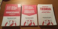 testbusters, manuali per test di ammissione area medico sanitaria. Set completo.