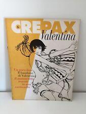 VALENTINA N. 6 GUIDO CREPAX BLUE PRESS 1994 PRIMA EDIZIONE