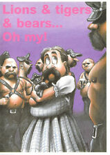 1990 LGBT Gay Leatherman Friends of Dorothy Lions Tigers & Bears Oh My UK Import
