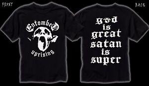 ENTOMBED- Swedish heavy metal band ,T_shirt-SIZES:S to 6XL