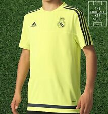 Real Madrid Training Shirt -  Official adidas Boys Football Top - All Sizes