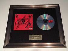 SIGNED/AUTOGRAPHED WHILE SHE SLEEPS - BRAINWASHED FRAMED CD PRESENTATION. RARE